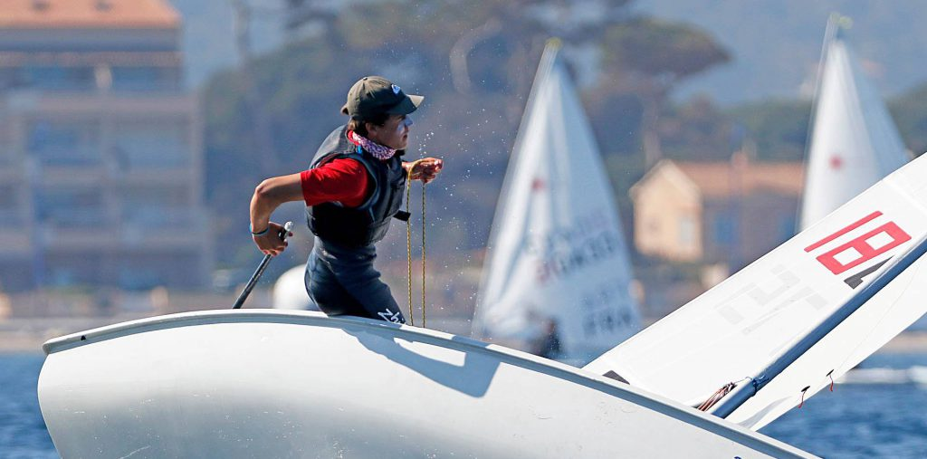 laser europa cup hyeres 2017 day 1