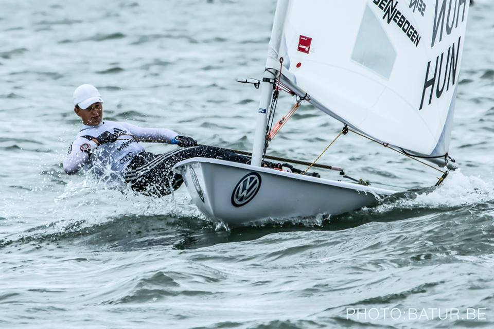Laser U21 worlds after 5 races