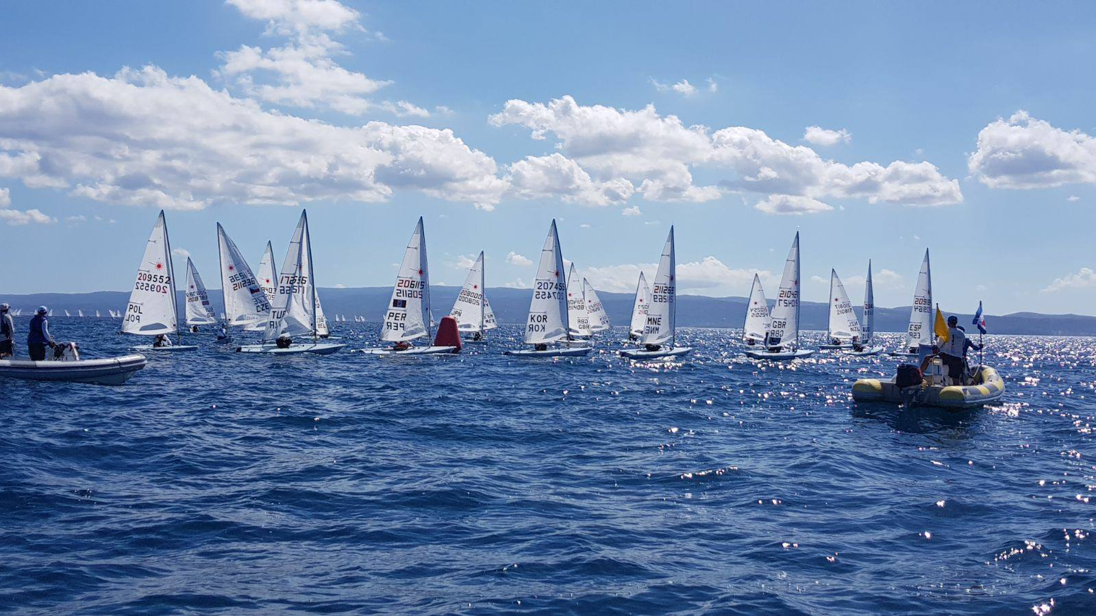 laser worlds 2017 day 1 results