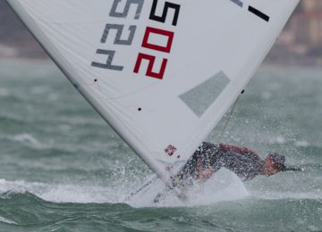 Laser Europa Cup in Ancona