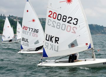 2018 Laser Europa Cup BUL - Day 2 results