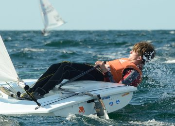 2018 Laser U21 Europeans day 3