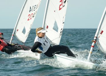 2018 Laser U21 Europeans day 4