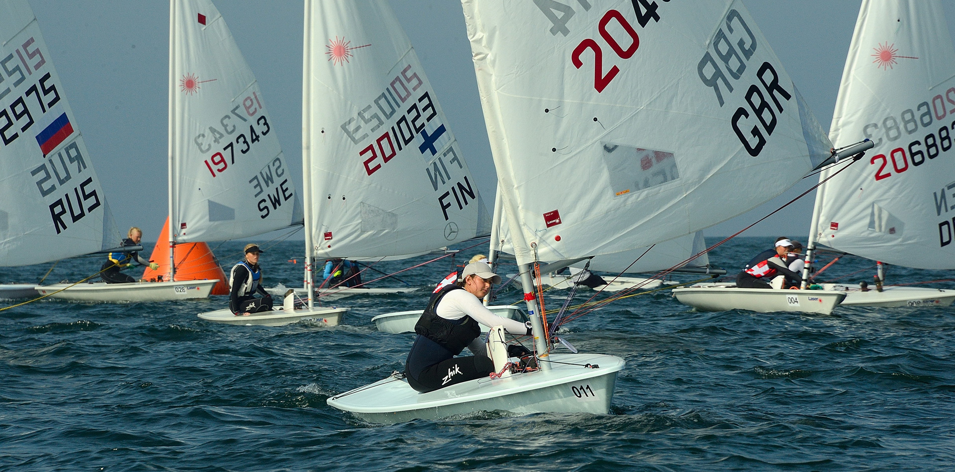 2018 Laser U21 Europeans day 5