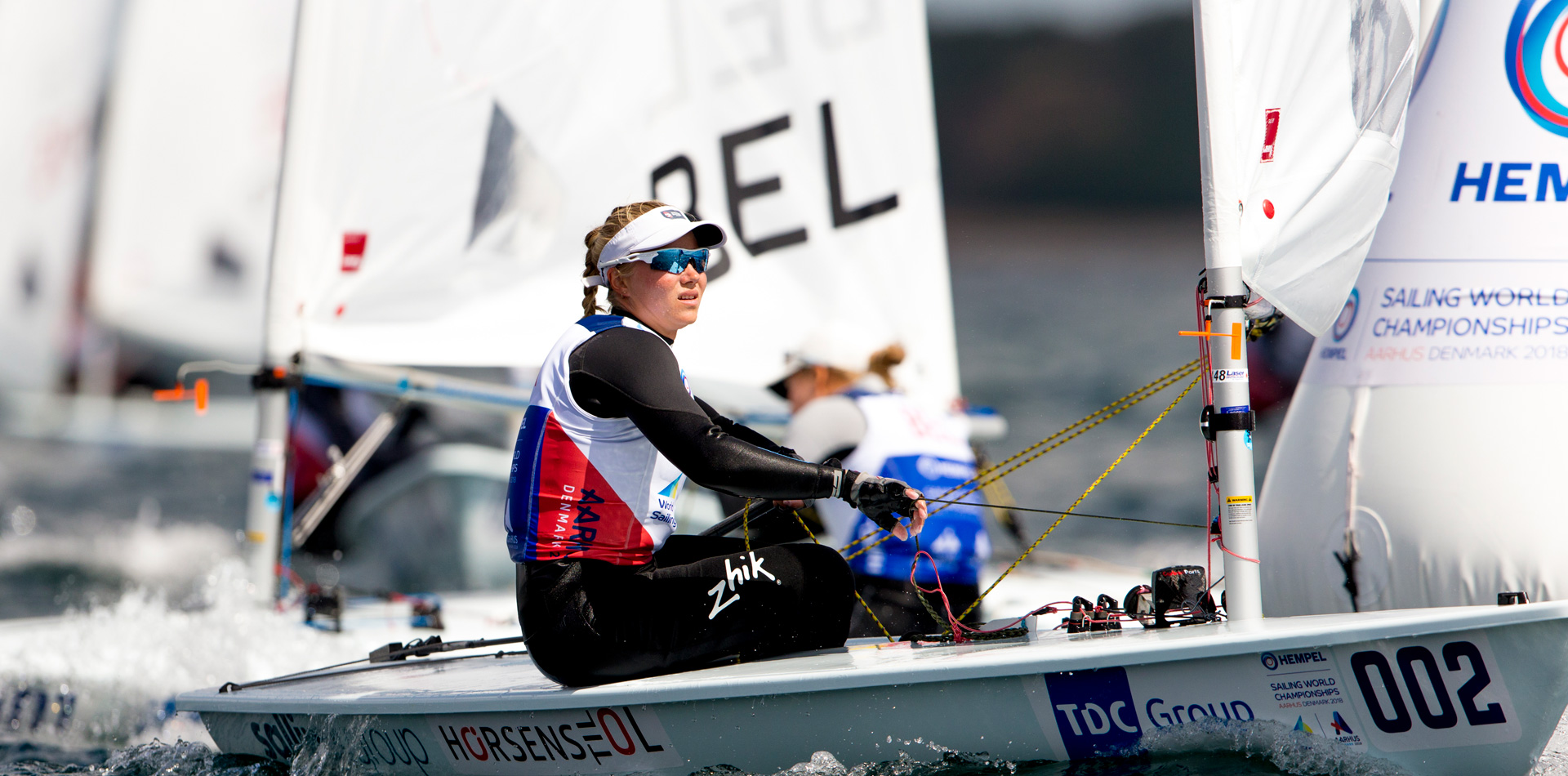 2018 Laser World championship results