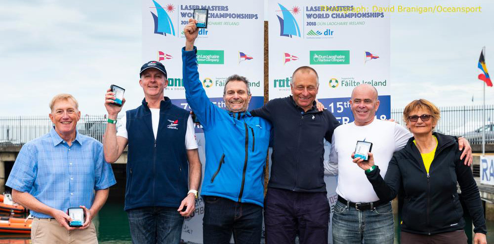 2018 Laser Master World championships Final results