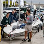 Laser Master European championships started in Vigo