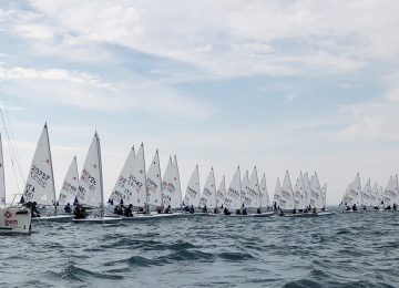 2018 Laser Europa Cup ESP Day 2 results