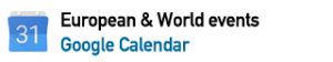 european and world calendar