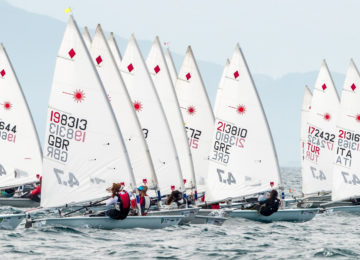 laser 4.7 youth europeans entries
