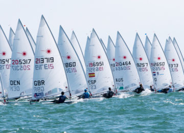 2019 laser senior european entries