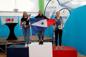 women podium hyeres