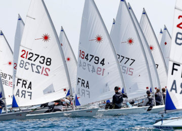 2019 Laser Europa Cup France 412 sailors