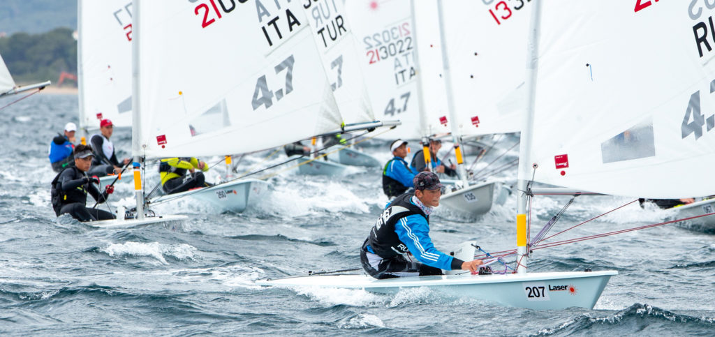 2019 Laser 47 Youth Europeans Day 1
