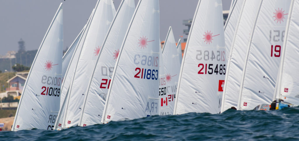 2019 Laser Senior Europeans Day 3