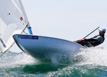 2019 Laser Senior Europeans Day 5