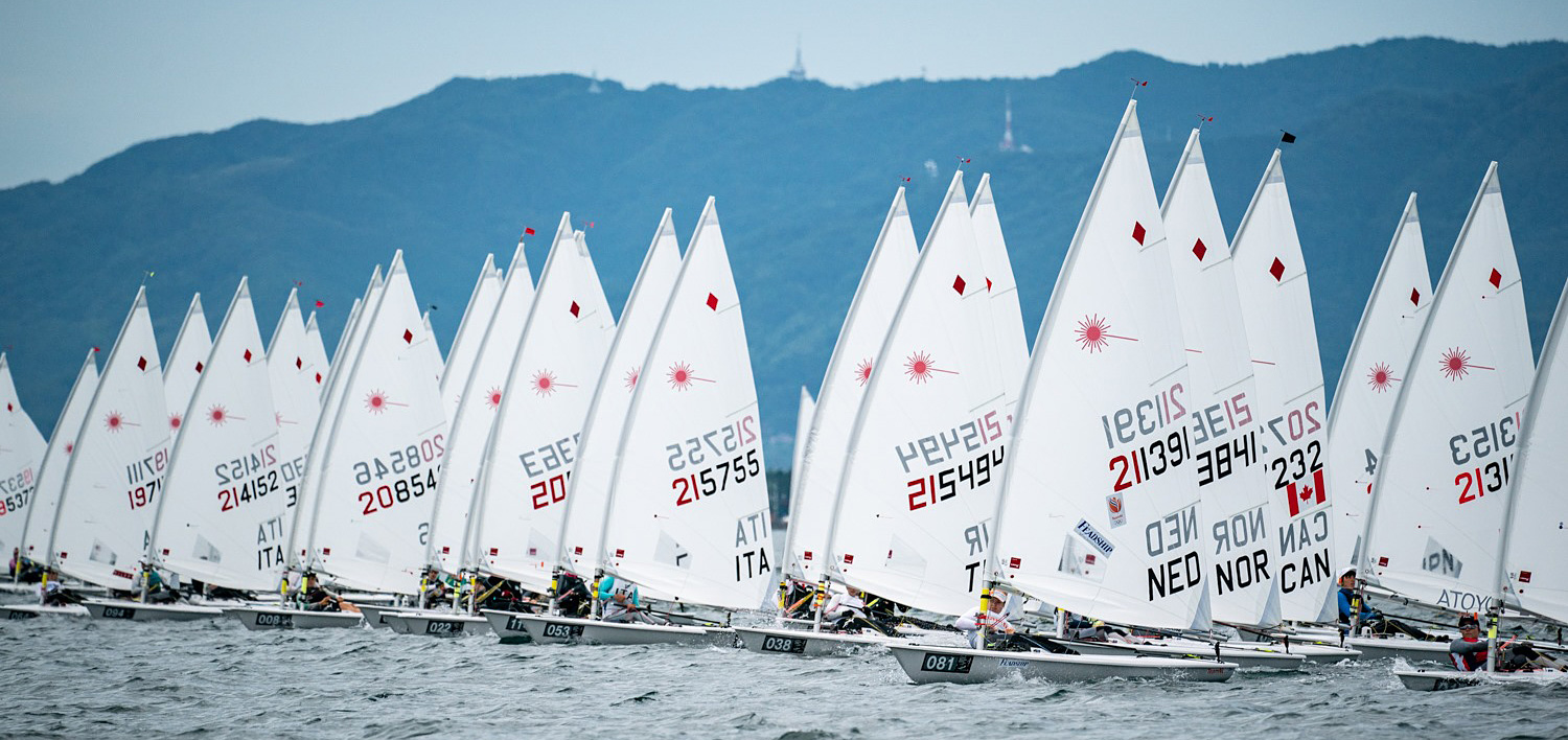 2019 Laser Radial World day 3