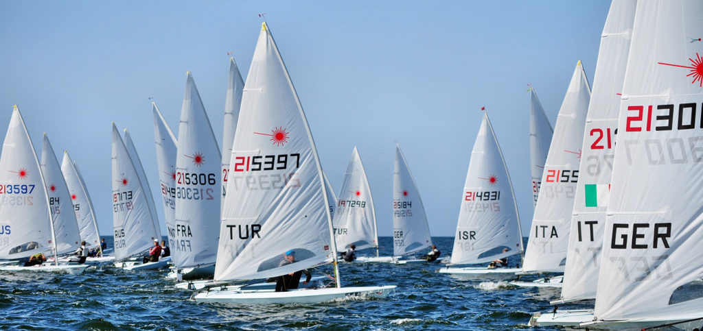 2019 Laser Under 21 Europeans started