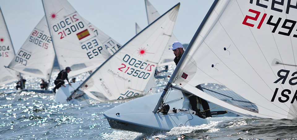2019 Laser U21 Europeans day 2