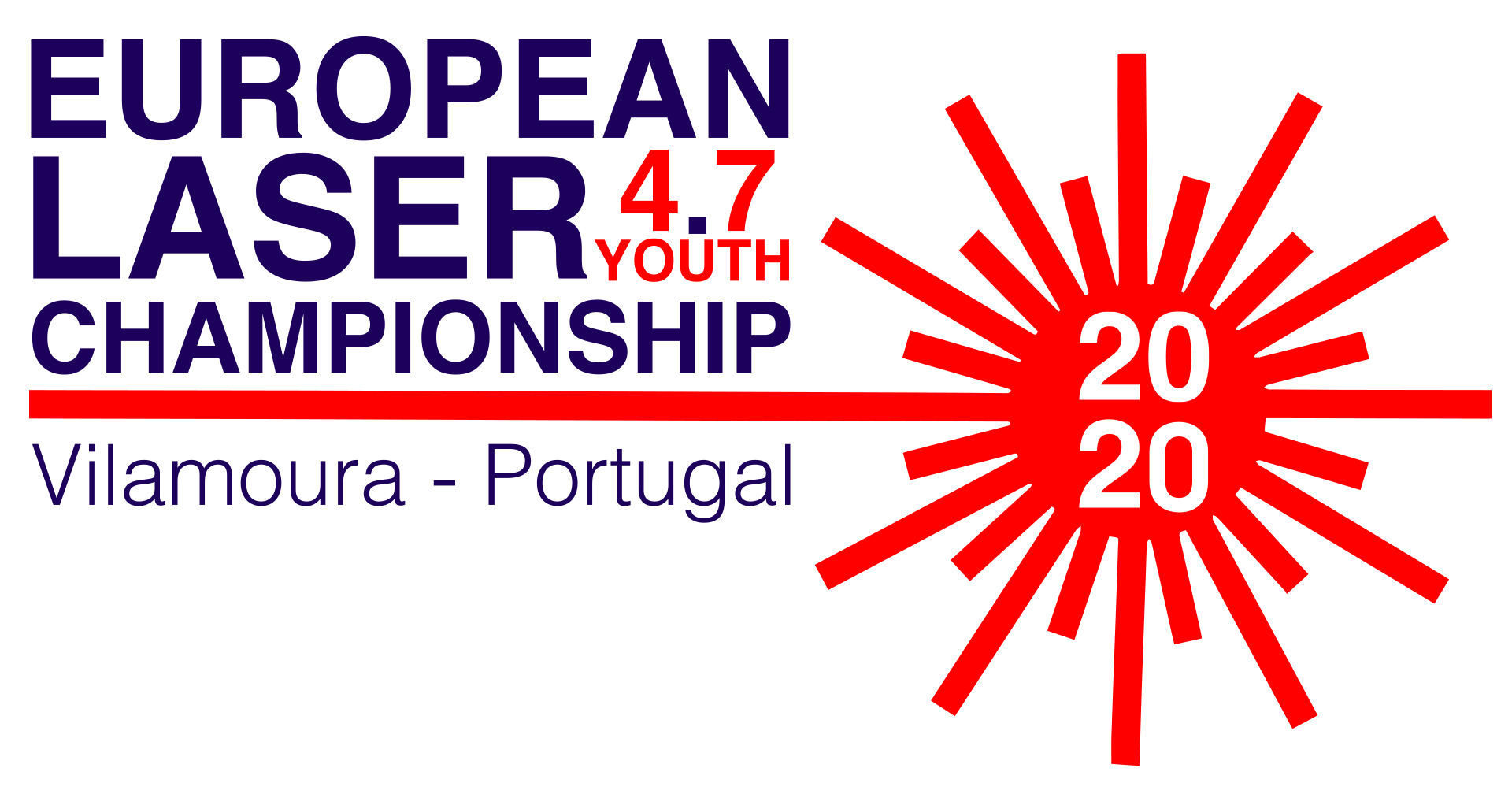 2020 laser 4.7 youth europeans logo