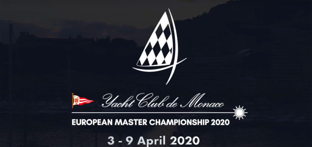 2020 Laser Master Europeans entry