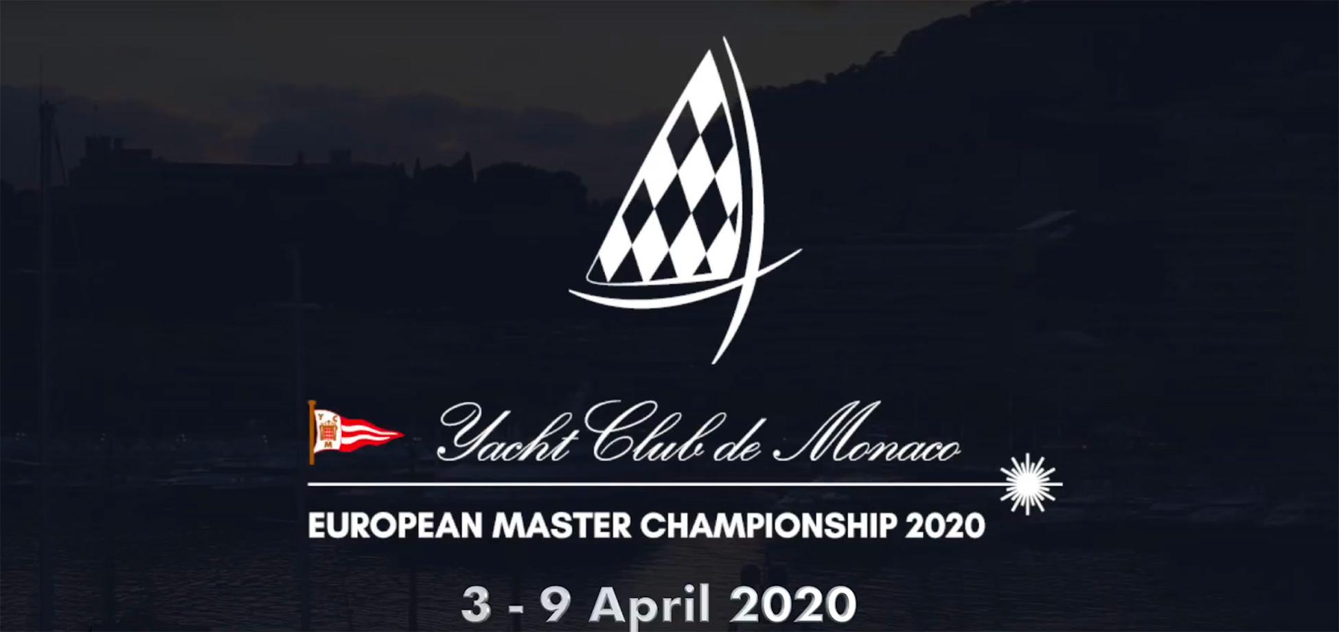 2020 Laser Master Europeans entry