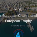 2020 Laser Senior Europeans entry