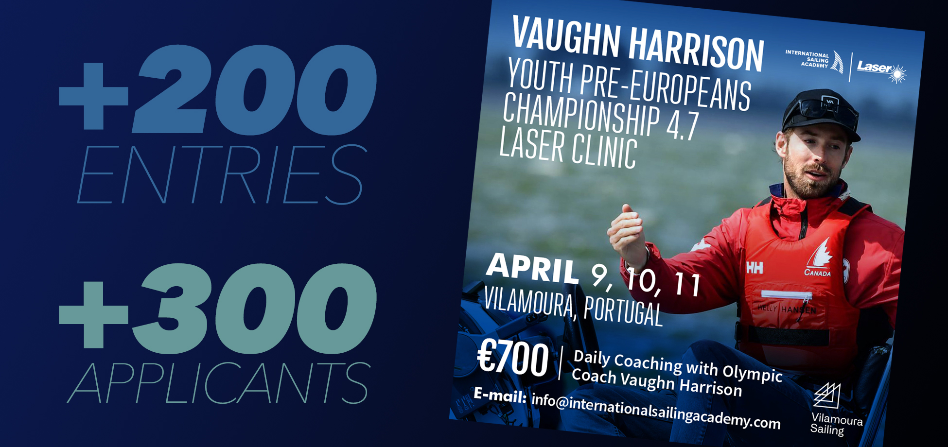 laser 4.7 Youth Europeans clinic