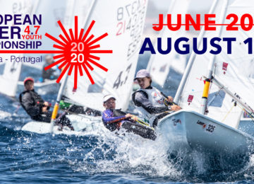 2020 Laser 4.7 Youth Europeans moved to August