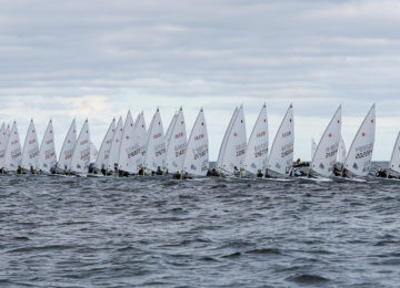 senior europeans race day 1