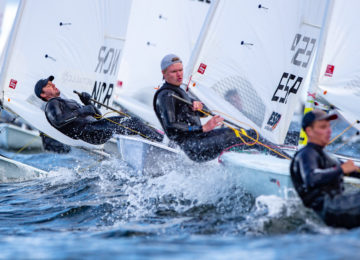 senior europeans race day 2