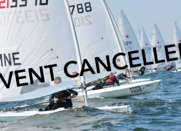 Event cancelled - 2020 Laser Under 21 Europeans