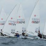 European Laser U21 results day 1