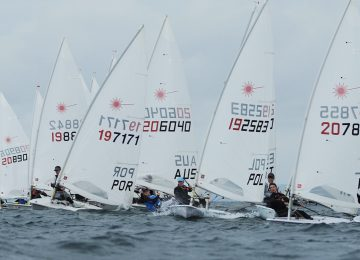European Laser U21 results day 1