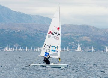 laser worlds day 5 results