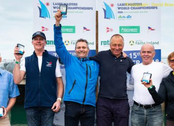 2018 Laser Master World championships Final results