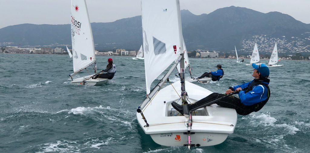 2018 Laser Europa Cup ESP Day 1 results