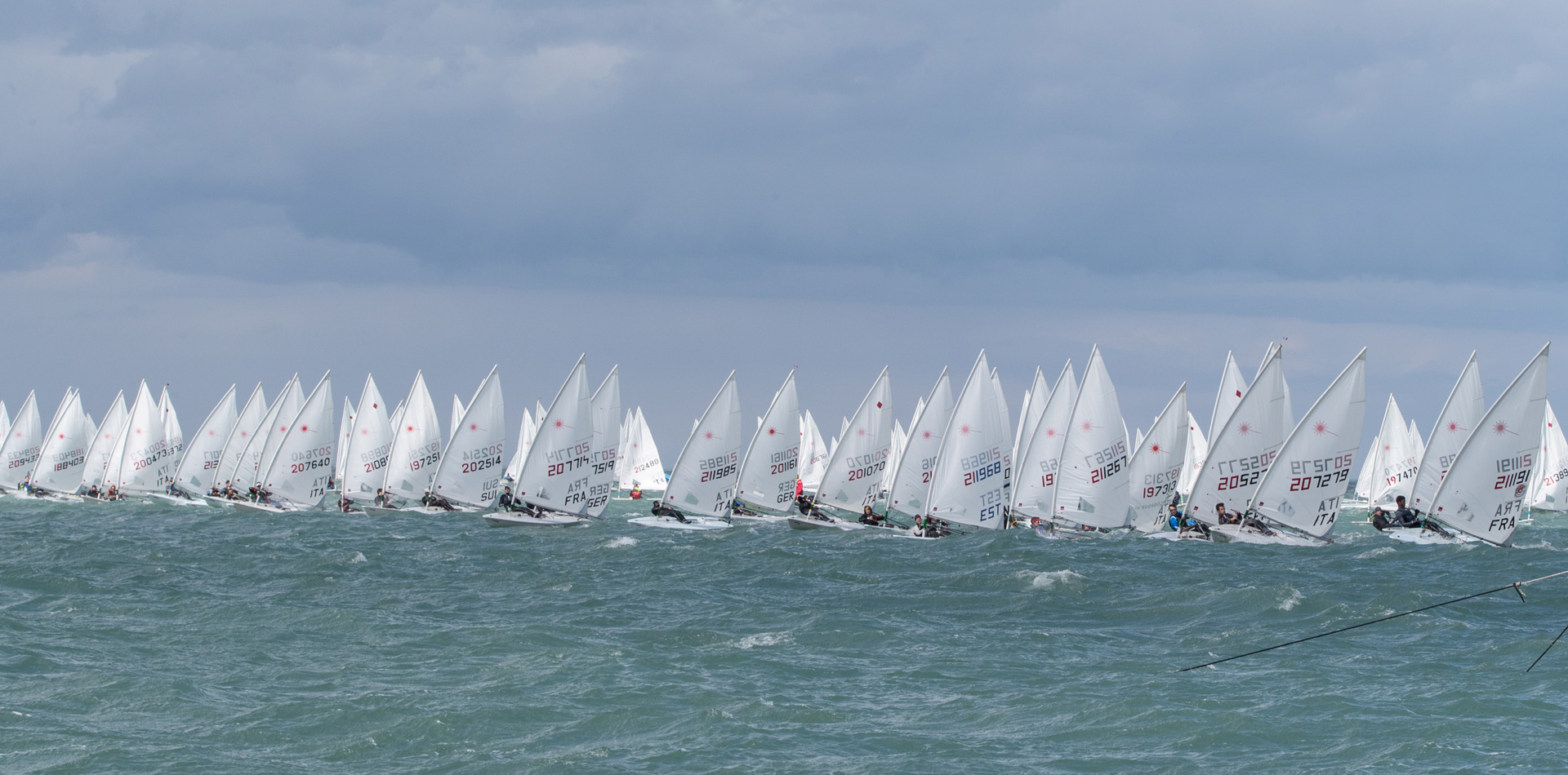 kick off the Laser Europa Cup 2019