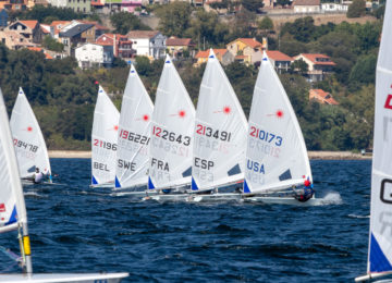 2019 Laser Master Europeans record