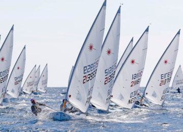 2019 Laser Europa Cup Italy entries