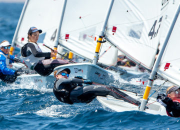 2019 Laser 47 Youth Europeans Day 5