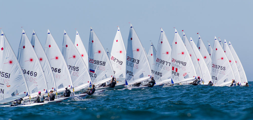 2019 Laser Senior Europeans final results