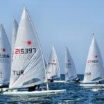 2019 Laser Under 21 Europeans started