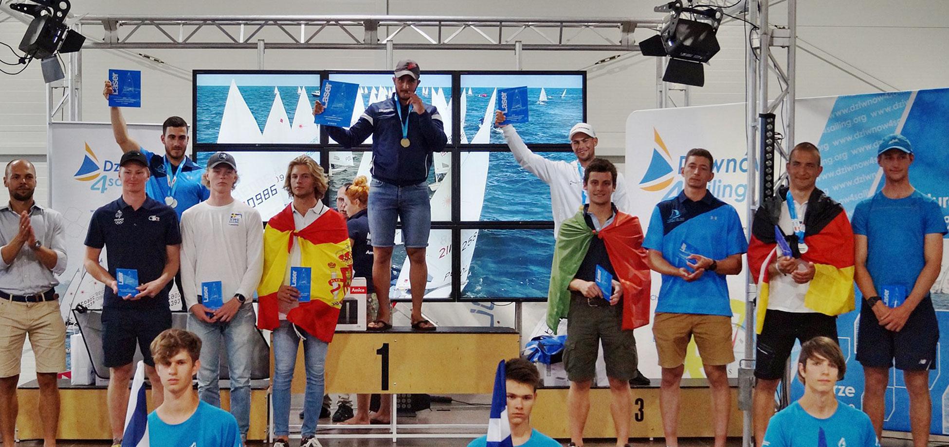 2019 Laser Under 21 Europeans final results