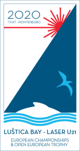 2020 Laser U21 Europeans logo