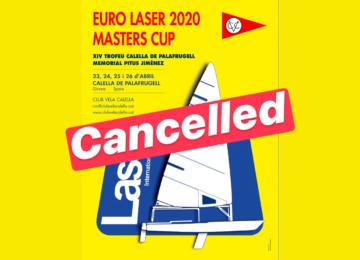 2020 Euro Master Calella cancelled