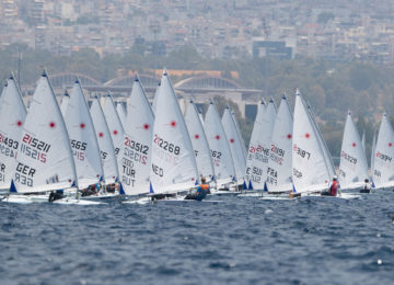 2020 Laser Radial Youth Europeans Hyeres