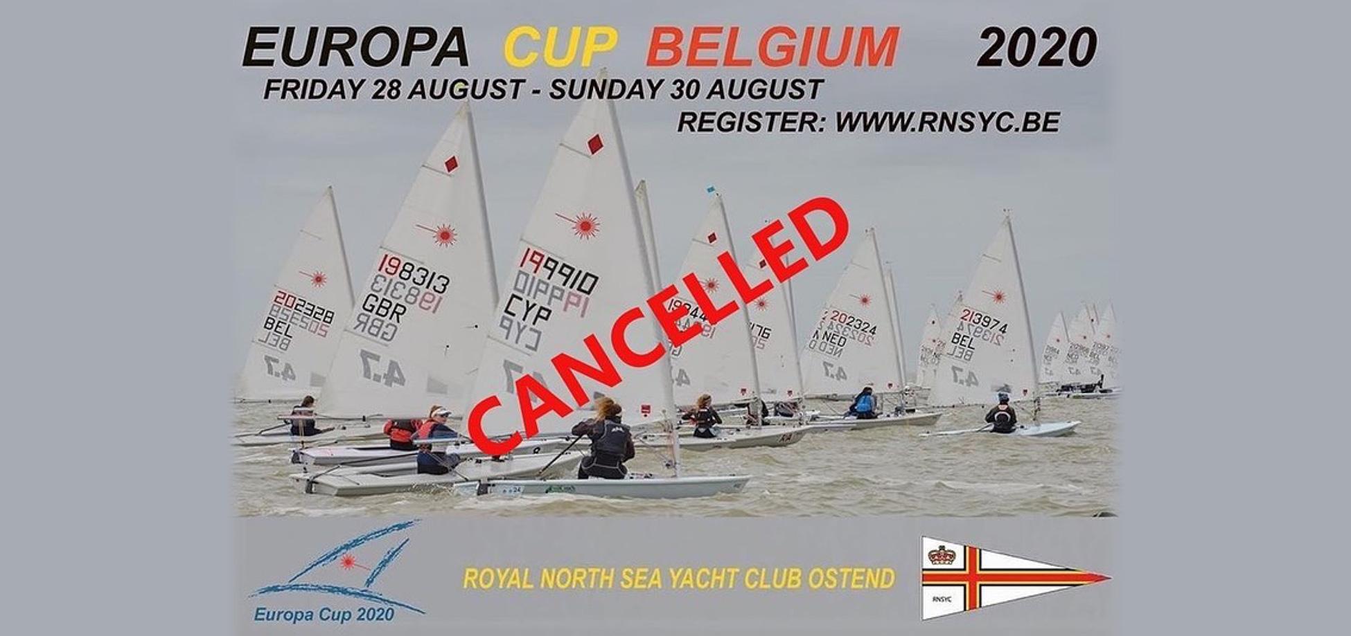 event cancelled in Belgium
