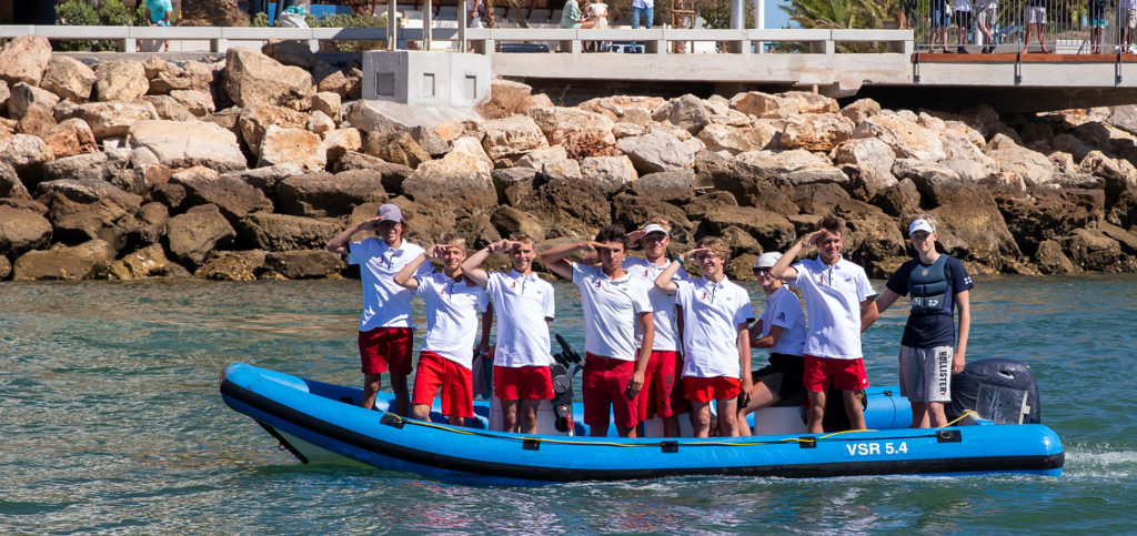 2020 Laser 4.7 Youth Europeans officially opened