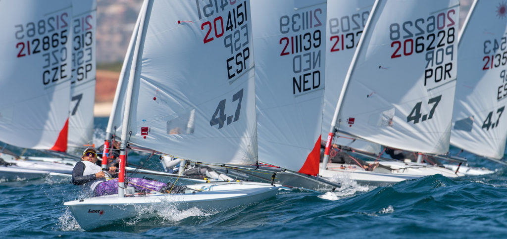 2020 Laser 4.7 Youth Europeans Race day 1